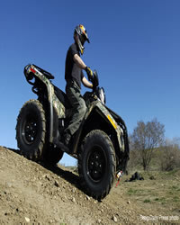 4-Wheeling in Craig Coorado