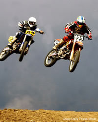 2 Motocross Competitors in Craig, Colorado